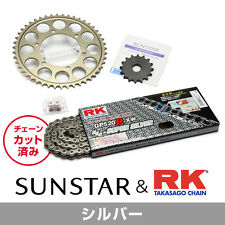 SUNSTAR Front/Rear Sprocket & Chain/Rivet Joint Set HONDA CB400SF (Super Four)