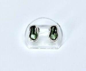 UNOde50 Damen Ohrstecker Kristall grün PEN0546VRDMTL0U