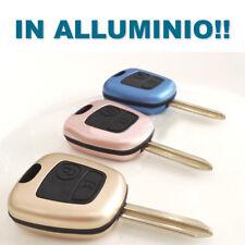 Cover ALLUMINIO per Guscio Peugeot Chiave 106 107 206 207 407 806 Telecomando gl