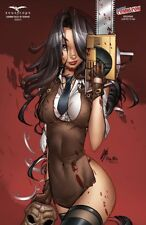 Zenescope GRIMM FAIRY TALES Grimm Tales of Terror NYCC 2017 Cover G Paul Green