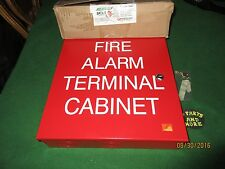 NEW  32 POINT TERMINAL SPACE AGE ELECTRONICS TC2 FIRE ALARM CABINET SSU00645