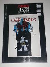 Cerebus High Society #13 VF-N Aardvarkvanaheim Aug 1990
