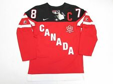 SIDNEY CROSBY IIHF RED TEAM CANADA 100th ANNIVERSARY NIKE HOCKEY JERSEY SZ SMALL