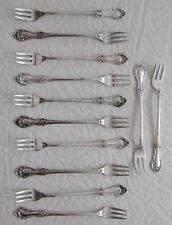 Sterling Silver 5 1/2-inch Appetizer Forks (12)