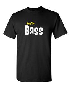 Fear The Bass / Bass Player T Shirt - Bassist Guitar Musicians tee