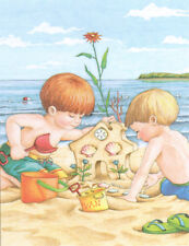 Sand Castle House Boys Beach-Handcrafted 