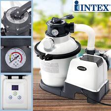Intex Sandfilter 4,5m³ Sandfilteranlage Filter für Pool Filterpumpe Filterkessel