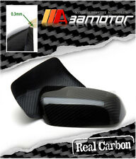 Carbon Fiber Door Side Mirror Trim Covers Set for Mitsubishi Evolution X EVO 10
