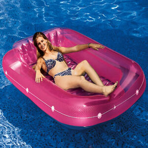 Swimline 9052 Suntan Tub Lounge Float Pool