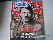 ** Les collections de l'Histoire n°18 Le chancelier le nazisme et les allemands