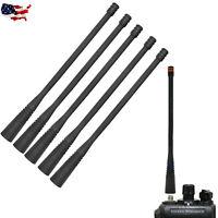 Lot 5 UHF 6.2 Inch Antennas for Vertex Standard VX824 VX261 VX264 Portable