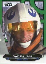 Star Wars Galactic Files Reborn Green Parallel Base Card ESB-14 Dak Ralter