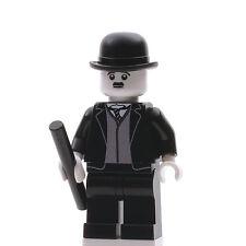 Custom Print Design LEGO Minifigure - Charlie Chaplin