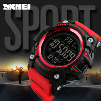 SKMEI Mens Multi-function Calendar Watches Fashion Digital Wristwatch 1384