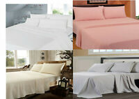 """FLANNELETTE 100% BRUSHED COTTON  2'6"""" X 6'6"""" ELECTRIC BED FITTED SHEET 14 SIZES"""
