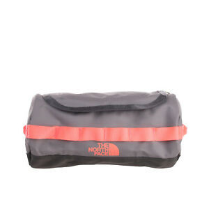 THE NORTH FACE Travel Toiletry Wash Bag Logo Print Removable Mirror Zipped