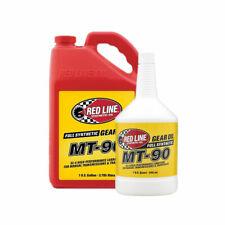 Red Line 75W90 MT90 GL-4 Manual Gearbox Gear Oil MT-90 GL4 Quart Bottles