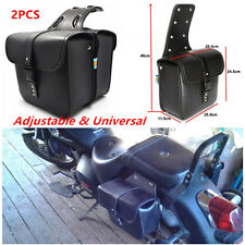 Universal Motorcycle Saddle Bags Side Storage Fork Tool Pouch For Suzuki Kawasai
