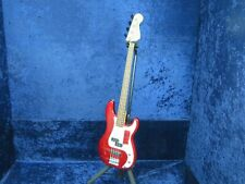 Fender Squier Precision 4 String Bass Guitar Ser#SNIC010610451 Red