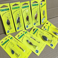 Thomas Fishing Lures - Lot of 13 Lures - for Trout Salmon Walleye Bass - Spinner