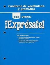 USED (LN) Expresate: Level 2 - Cuaderno de vocabulario y gramatica