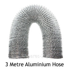 "3m Aluminium Extra Long Vent Hose Pipe for JOHN LEWIS Tumble Dryer 4"" / 100mm"