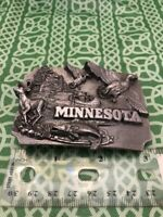Siskiyou Pewter 1989 Minnesota State R-35 Belt Buckle FREE SHIPPING
