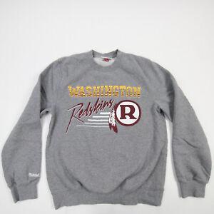 Washington Redskins Mitchell & Ness Sweatshirt Men's Gray Used