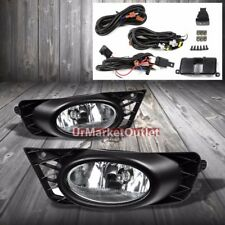 Clear Lens Housing Driving/Bumper Fog Light+Mounting For Honda 09-11 Civic FA/FD