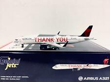 Gemini Jets Delta Airbus A321 Thank You Livery 1400 Scale GJDAL1927