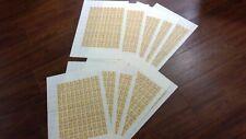 More details for 10 full sheet unfolded vietnam 1976 orchids total 1000 stamps c.t.o  scott 854