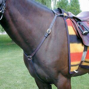 Nunn Finer Hunting Breastplate - Horse - Havana - Brand New