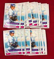Lot of 34 Cards 1979 Topps Steve Garvey Baseball Card # 50  RG1