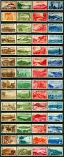 JAPAN 1936/52 NATIONAL PARK 1st series very Long complete set Sk# P1-68 mint MH*