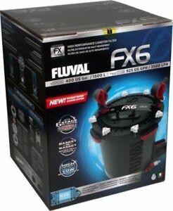 FLUVAL FX6 Canister Filter External Filter 400 Gallon Tank Complete
