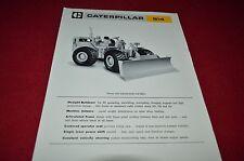 Caterpillar 814 Wheeled Bulldozer Dealers Brochure BWPA