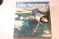 Combat Flight Combat MICROSOFT SIMULATOR 2 Gioco PC Nuovo & sono