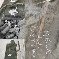 WWII Africa, Italy, France U.S. Marine Corps USMC Duffle Bag Named Art Relic