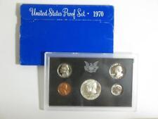 1970-S United States Proof Coin Set - Half Quarter Dime Nickel Cent