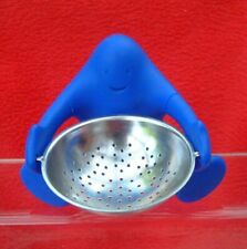 More details for alessi tea strainer - blue man - 2000 - italy
