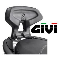 Dosseret passager GIVI HONDA Forza 125 2015 maxiscooter dossier maxiscoot TB1140