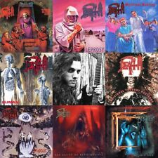 Death Chuck Schuldiner Discography All In One Sticker or Magnet