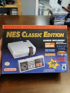 Nintendo NES Classic Edition Video Game Console - New In Box - Factory Packaging