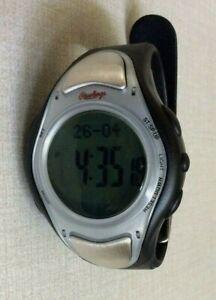 Rawlings Innovation At Play Heart Rate / Pulse Watch Illuminated Digital LCD New