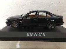 Bmw M5 berline noir miniature 1/43