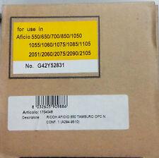 RICOH  AFICIO 550-650-700-850-1050-1055-1060 TAMBURO OPC DRUM NEUTRO COMPATIBILE