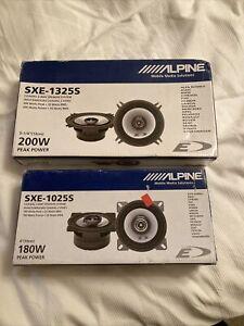 alpine car speakers - 2 Pairs