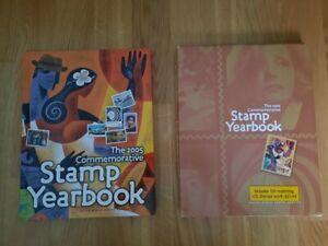 The 2005 Commemorative Stamp Yearbook - Briefmarkenjahrbuch USA 2005