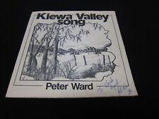"Peter Ward - Kiewa Valley Song - Private Press - Oz Folk Psych? Signed 7"" - RARE"