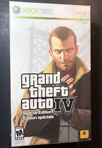 Grand Theft Auto IV GTA 4 [ Special Edition Box Set ] (XBOX 360) NEW